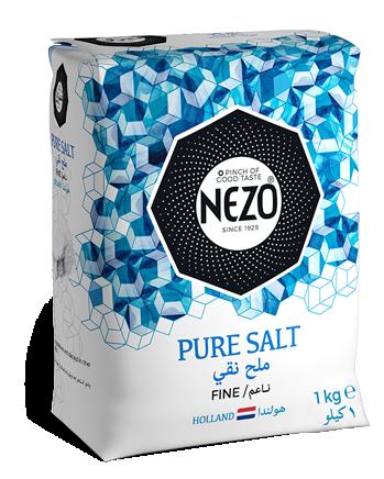 Table salt fine 1kg Paper bag