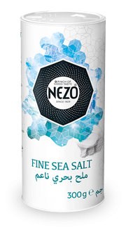 Sea salt fine 300g Carton Shaker