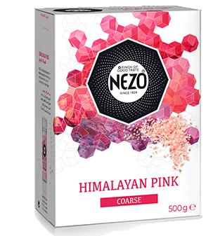 Himalayan pink salt coarse 500g Carton box