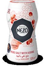 Iodised salt extra fine 90g Mini shaker