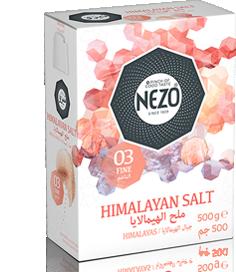 Himalayan salt fine 500g Carton box