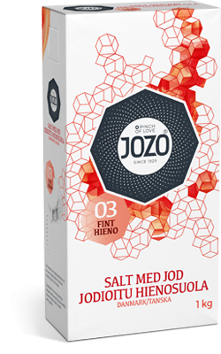 Iodised table salt  1kg Paper bag