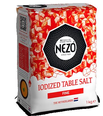 Iodised table salt  1kg Paper bag