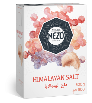 Himalayan salt fine 500g Carton box