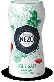 Light salt fine