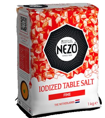 Iodised table salt